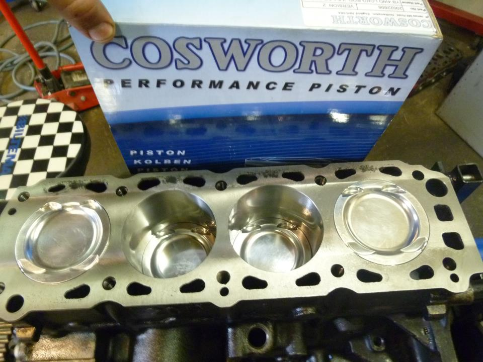 kvs cosworth blokk